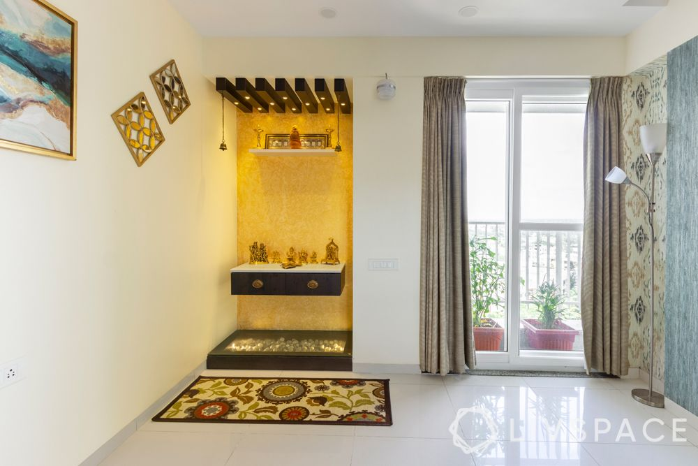 wooden-temple-for-home-rafters-yellow-wall