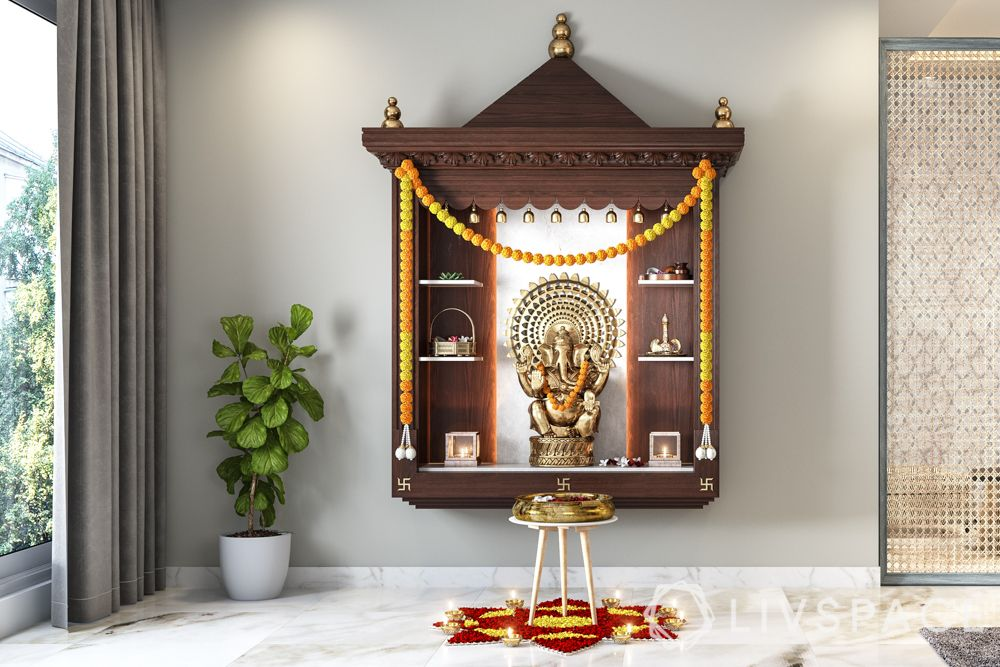 wooden-temple-for-home-floating-dark-unit-gopura-compact-home