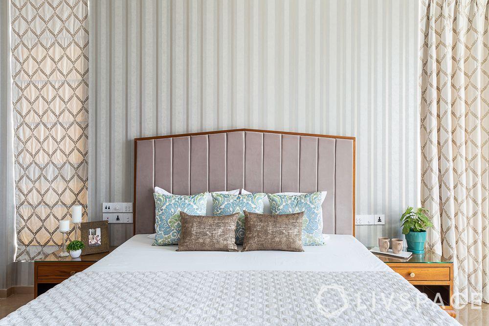 bedroom-colour-dusty-pink-headboard-creamy-drapes