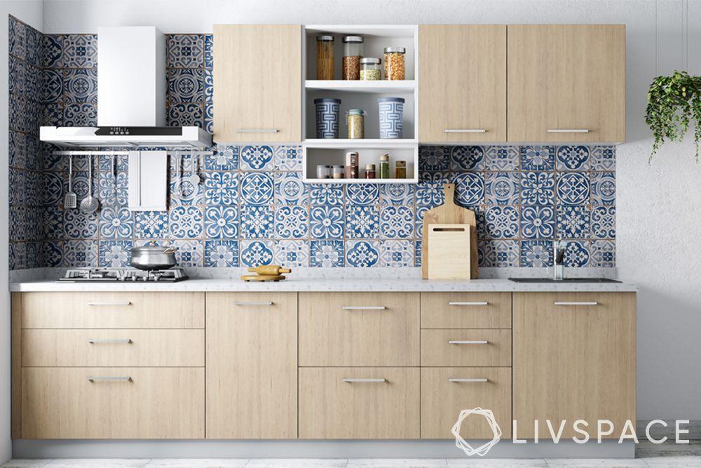 hdf-kitchen cabinets-wooden-backsplash
