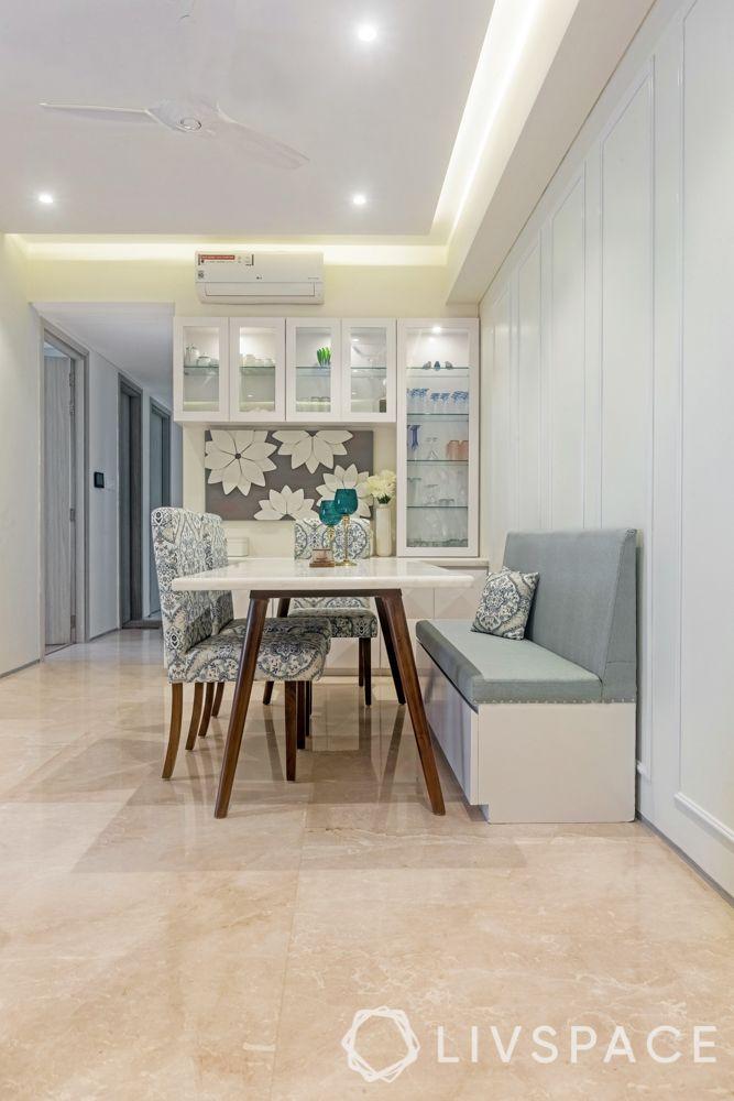 3 BHK flats in Mumbai-sofa cum storage-crockery unit