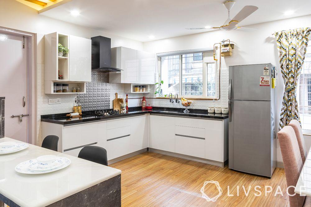 open kitchens-L shaped kitchen
