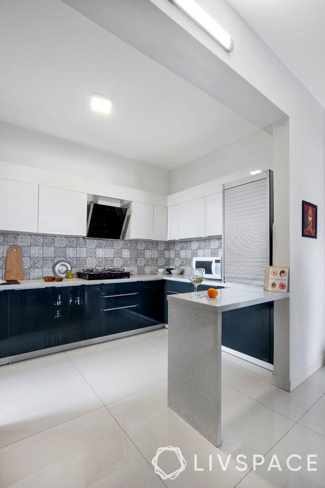 open kitchens-white kitchen-white and blue cabinets