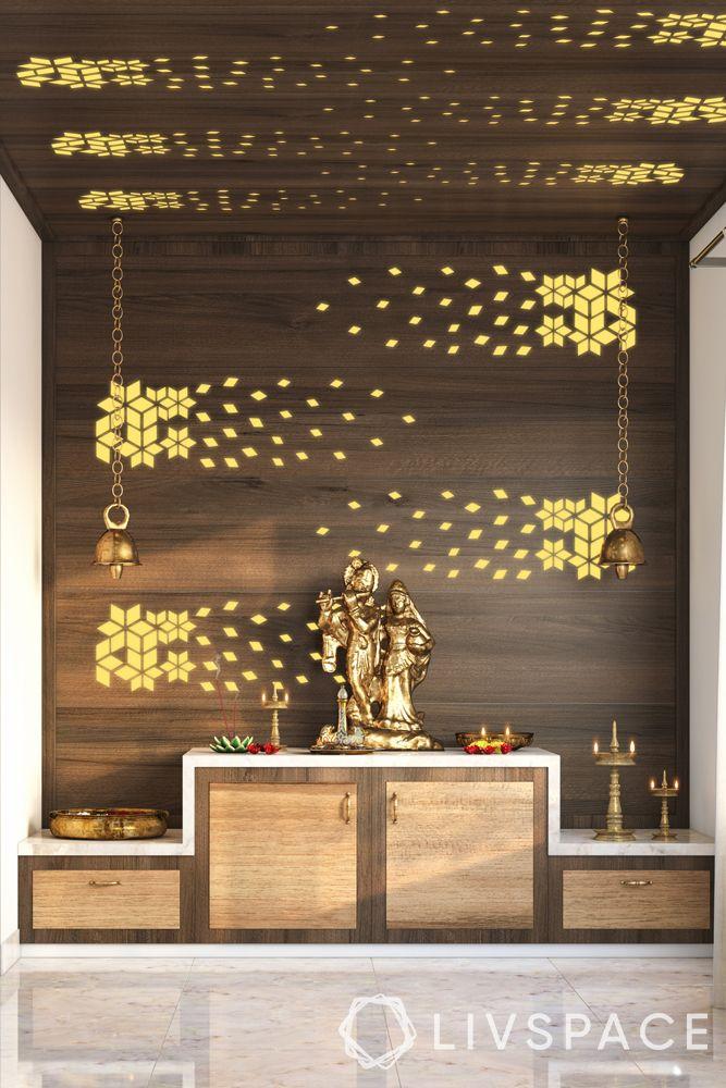 mandir designs for small flats-storage units-wall decals