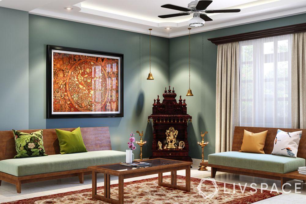 mandir designs for small flats-small pooja-wooden design
