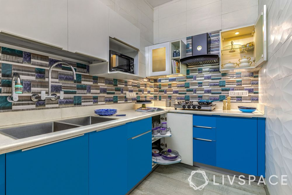 small kitchen design tips-S carousel-wall storage