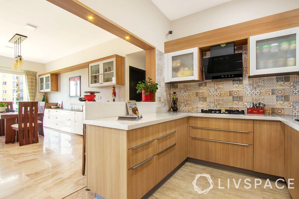 east-facing-house-vastu-plan-wooden-cabinets-kitchen