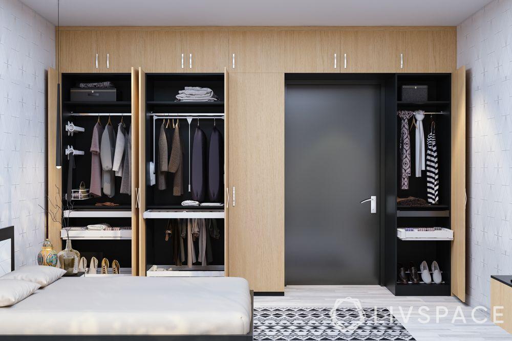 small bedroom cupboard designs-lofts-hangers