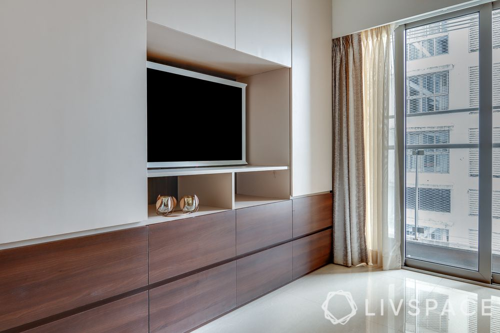 hometour-apartment-in-mumbai-study-guest-bedroom-TV-unit-wood-white