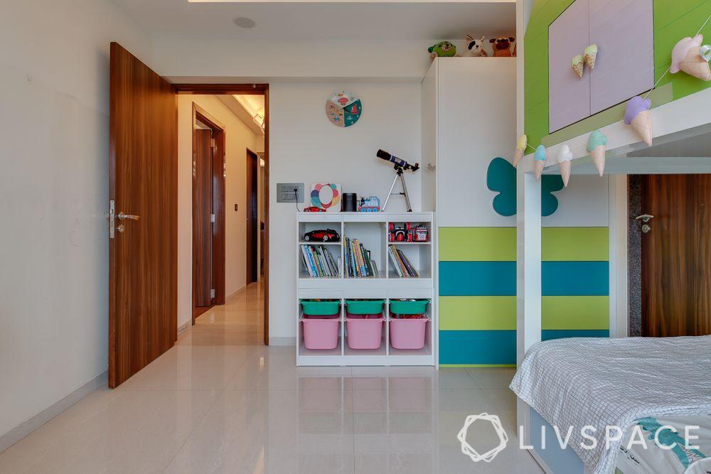 hometour-apartment-in-mumbai-kids-bedroom-white-wardrobe-storage-unit