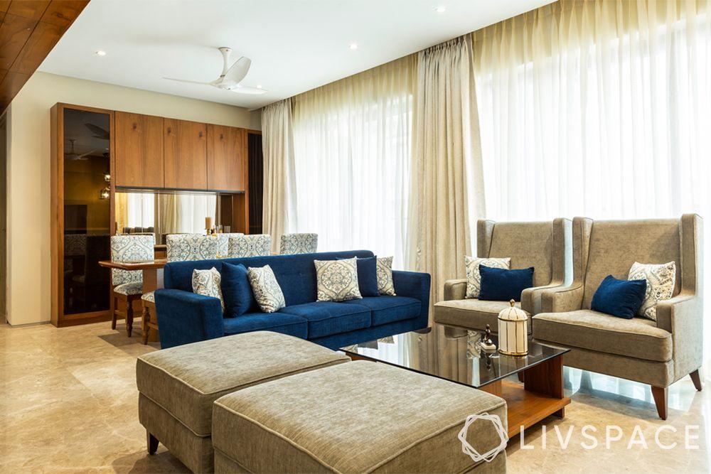 interior-of-3-BHK-flat-living-room-blue-sofa