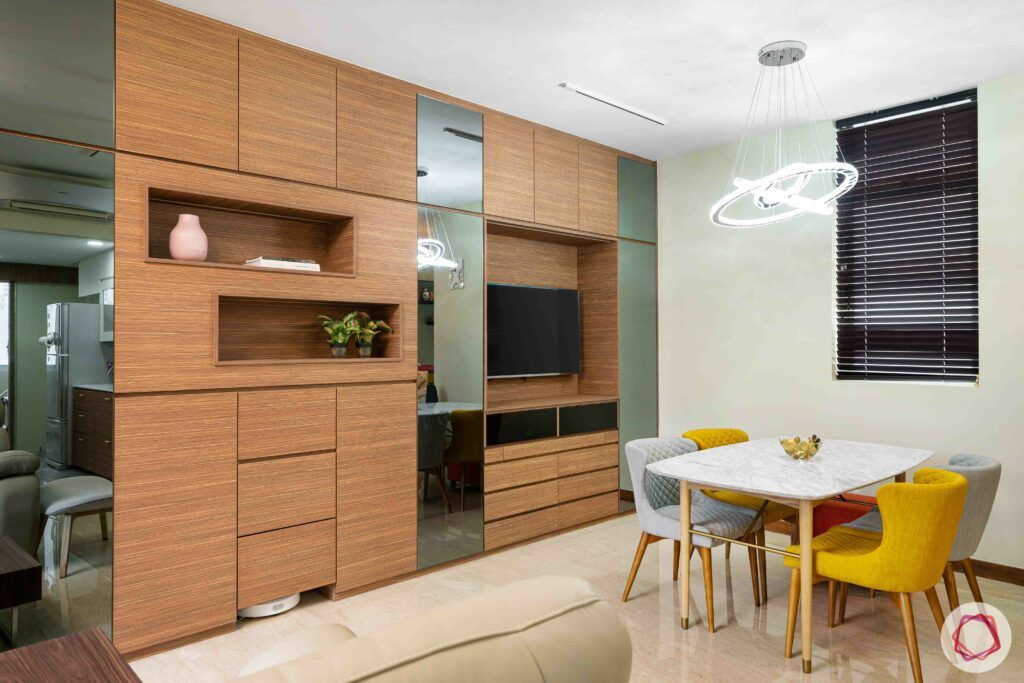 condo-interior-design-dining-accent-light-TV-unit-living