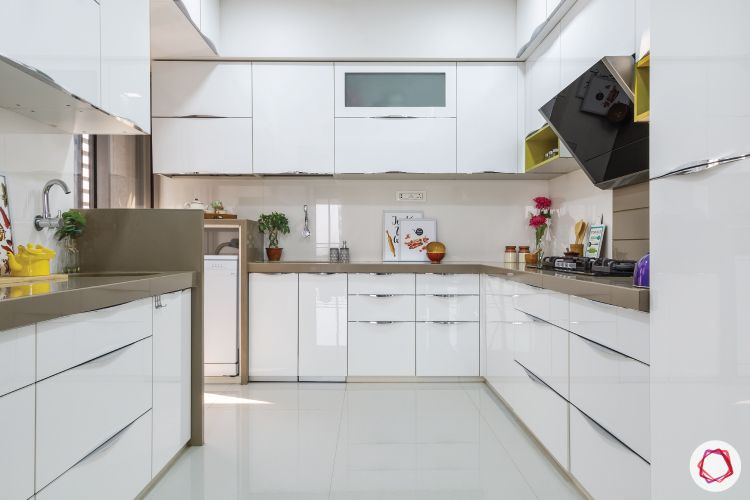 kitchen design singapore-white kitchen cabinets-storage units