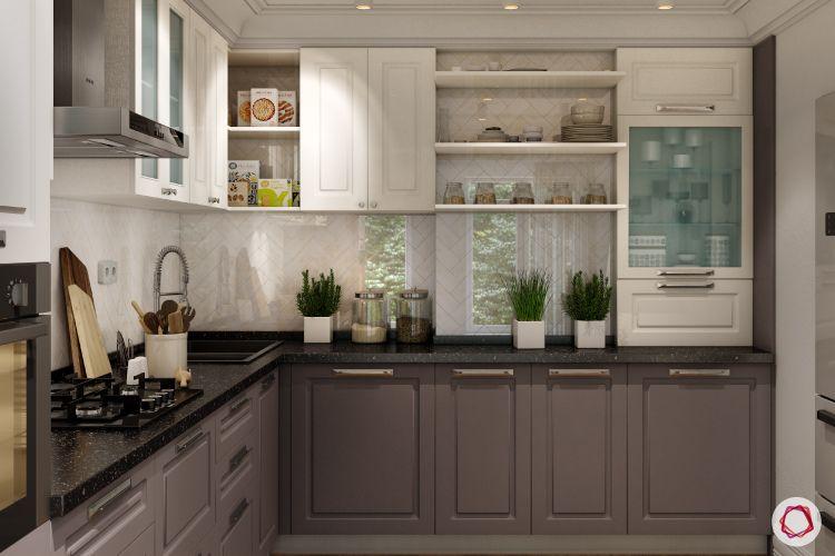 Modular kitchen_new kitchen-on-budget-open pantry designs