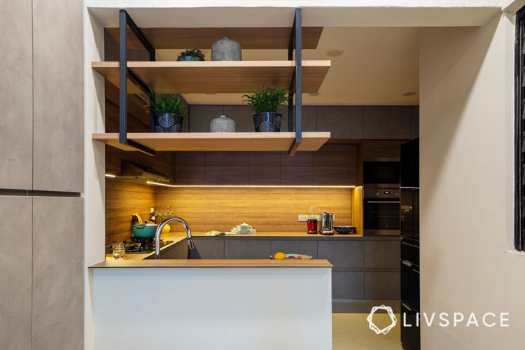 Kitchen-overhanging-open-shelves-storage-display-areas