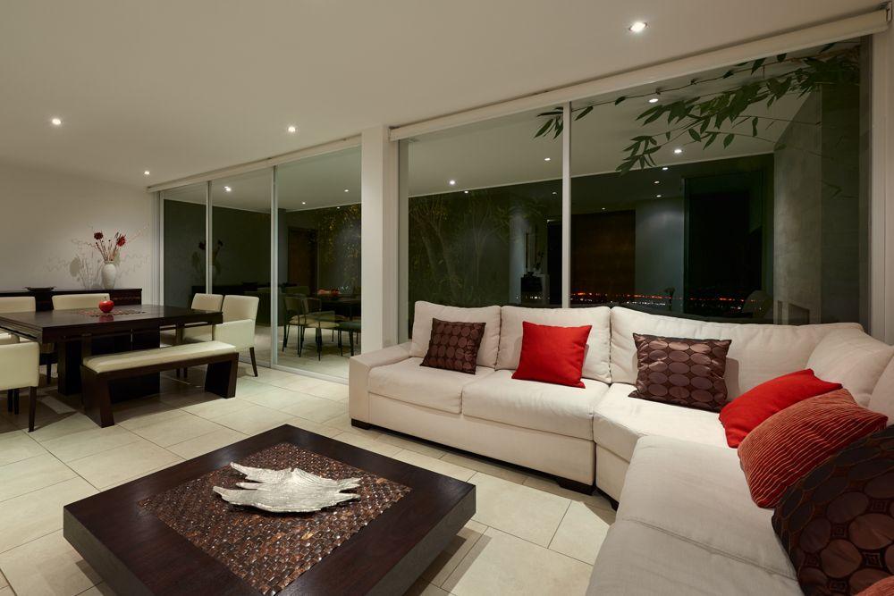 living room lighting ideas-recessed lights