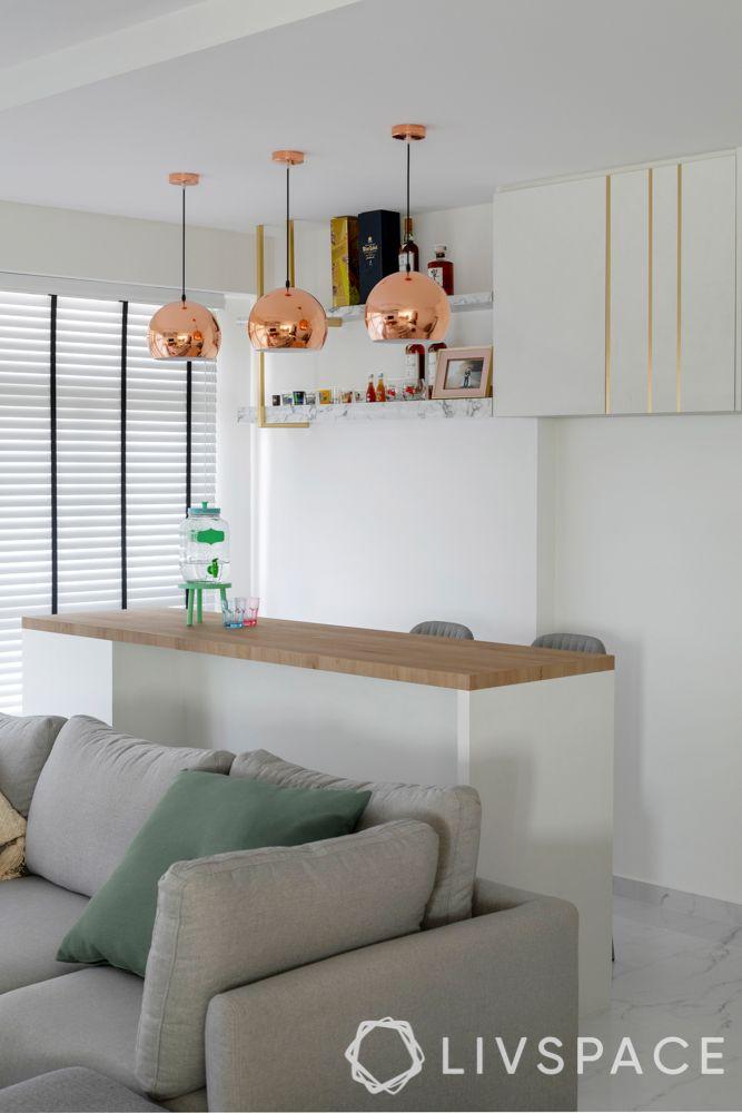 living room ideas-pendant lights