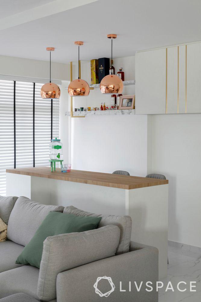 hdb-bto-design-bar-counter-rose-gold-lights