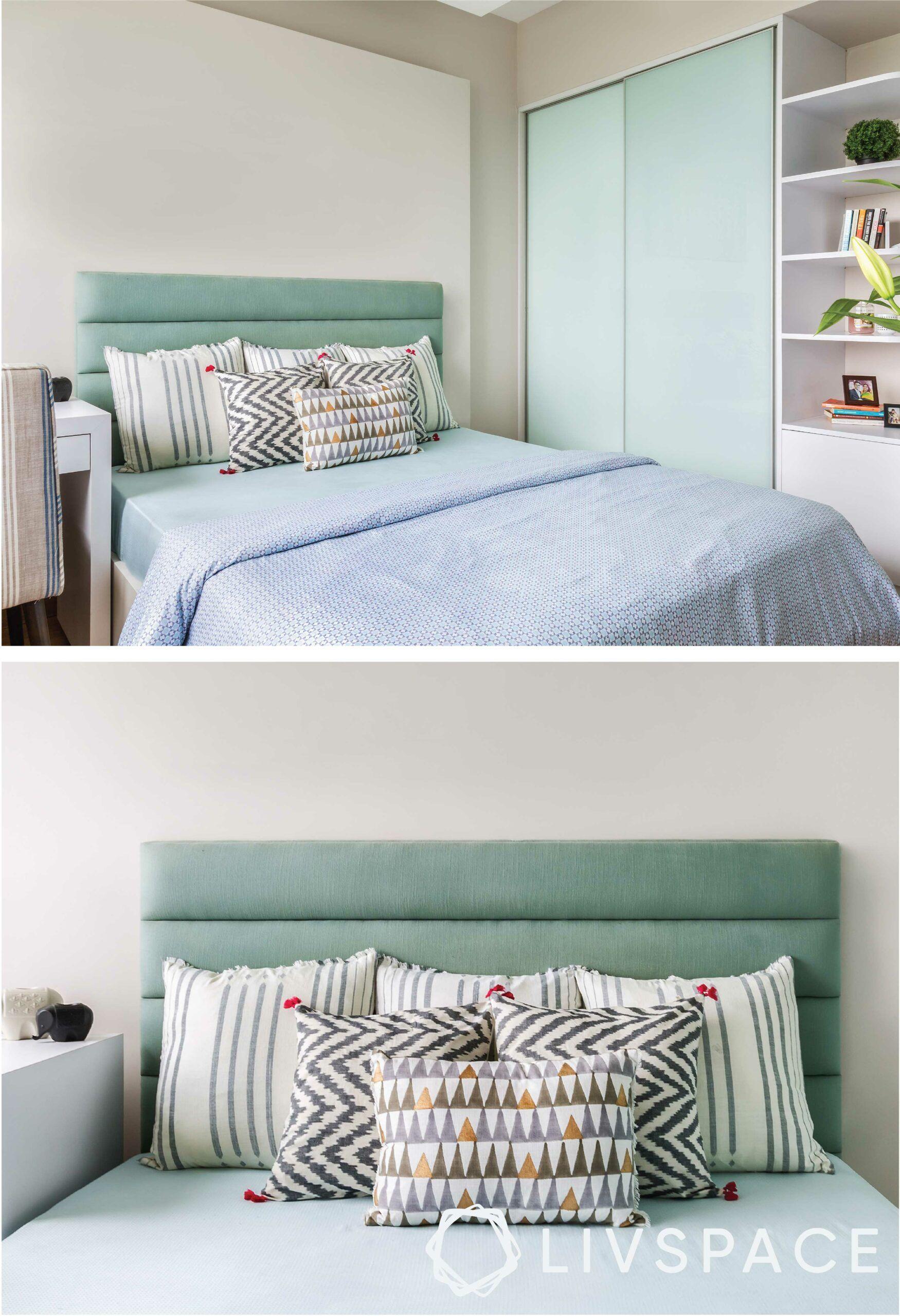 compact-bed-sliding-wardrobe-open-shelf-headbaord