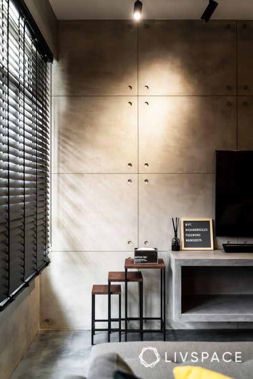 hdb bto-cement screed wall-spotlight
