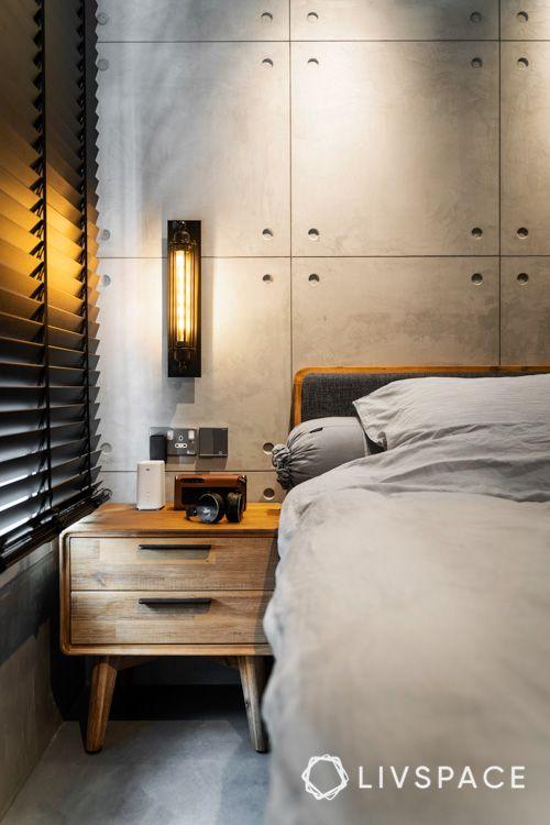 hdb bto-bedside table-reading light