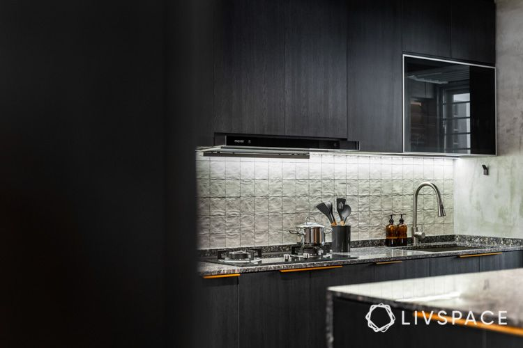 hdb renovation-square tiles-profile lighting