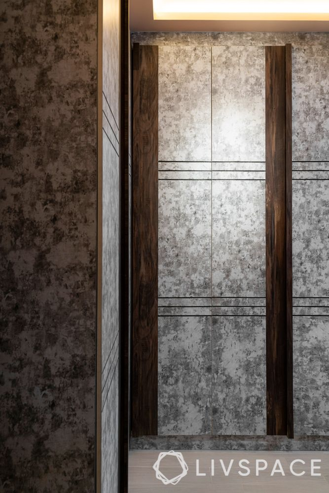 laminate wardrobe-master bedroom