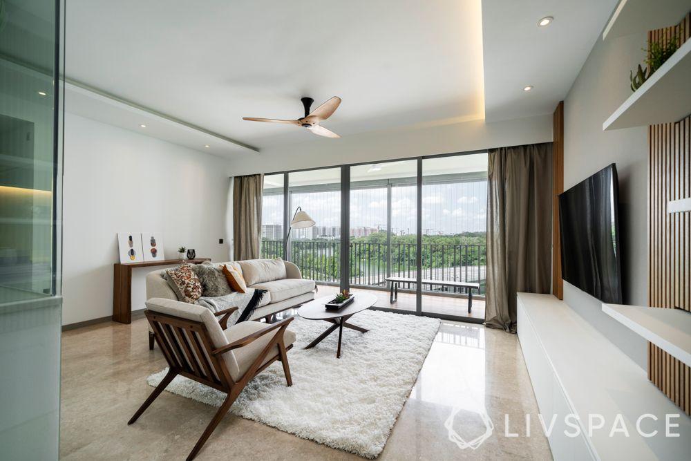 renovation cost singapore-living room