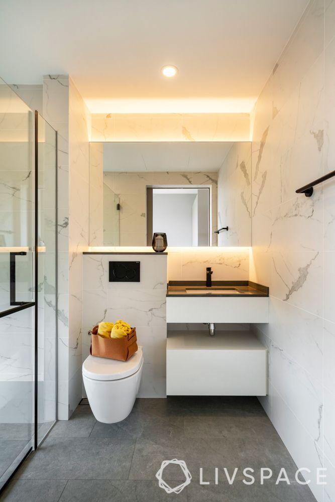 renovation cost singapore-marble-bathroom tiles