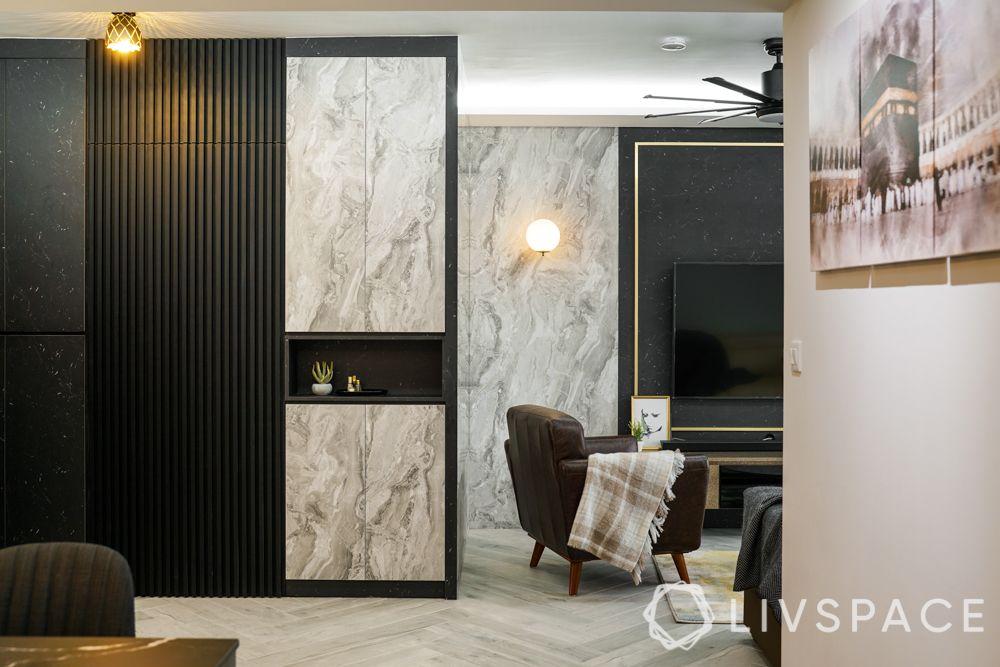 3 Room BTO Design-Living Room