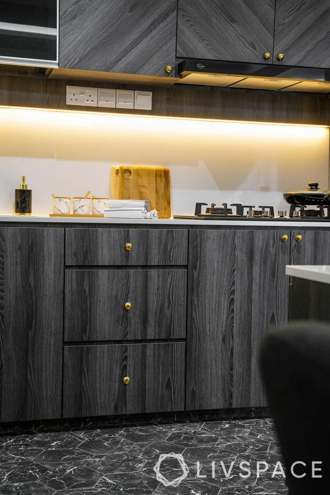 3 room bto design-laminate flooring-grey kitchen cabinets