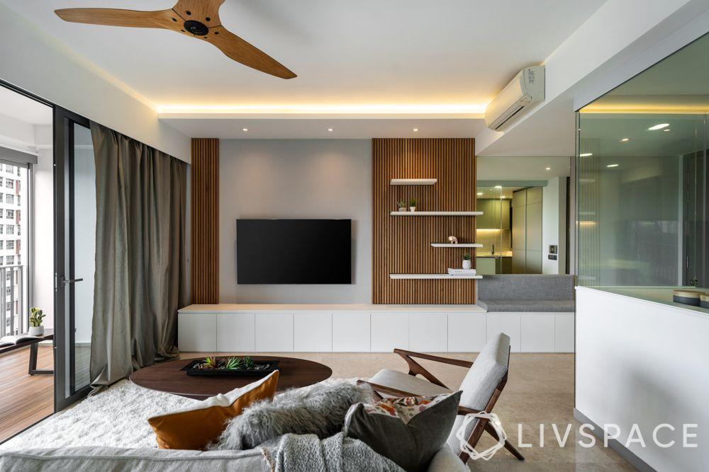 tv-wall-design-wood-lights