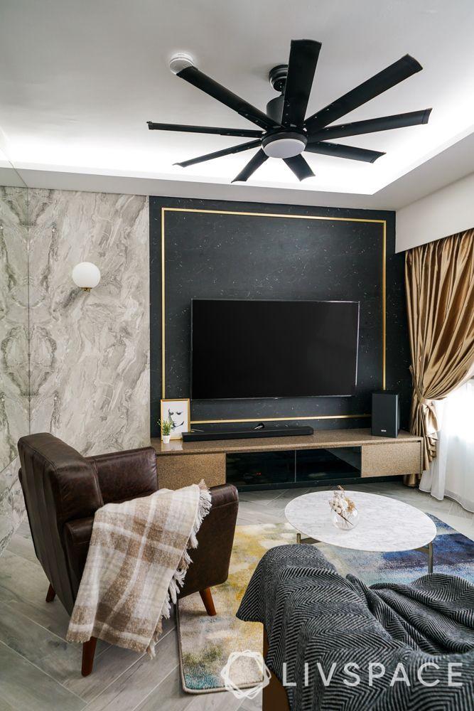 tv-wall-design-dark-panels