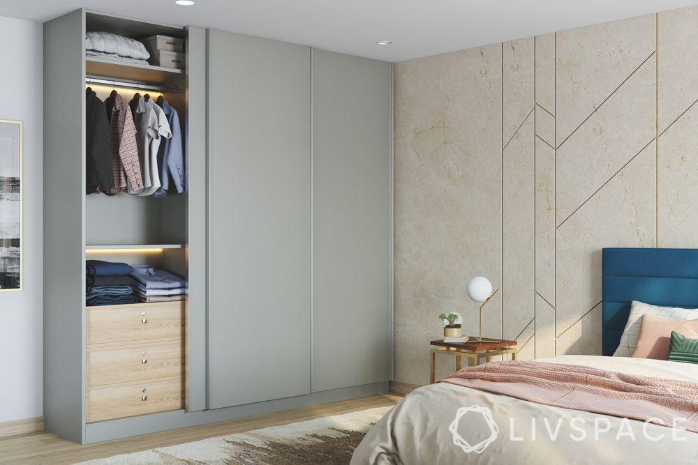 wardrobe designs for bedroom-sliding wardrobe