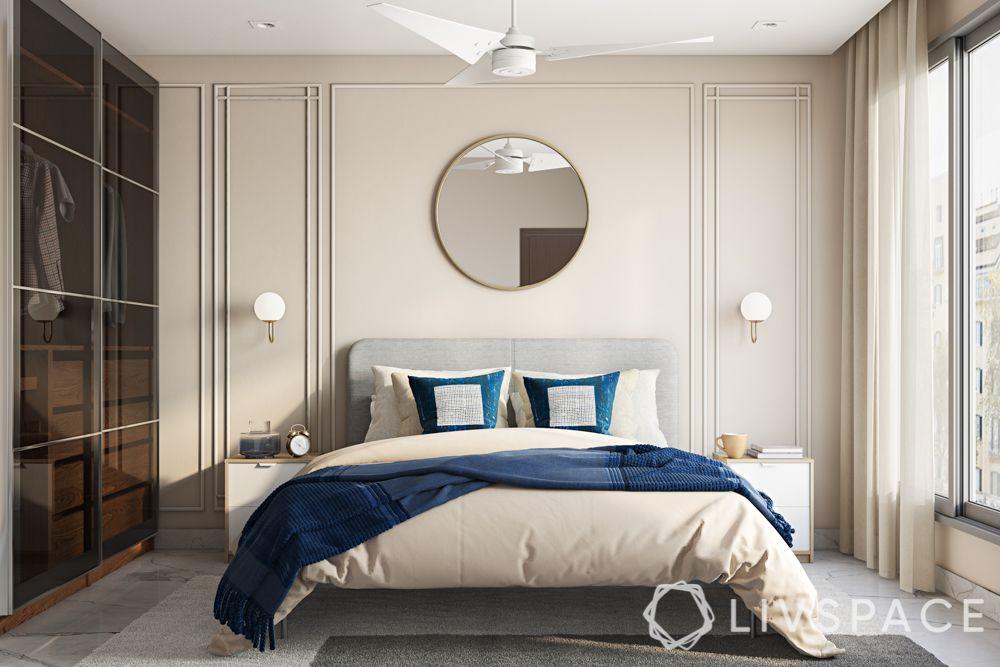 colour-ivory-centre-wall-bedroom-mirror-wardrobe