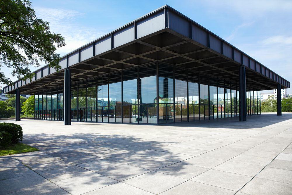 minimal interior design-new national gallery-berlin