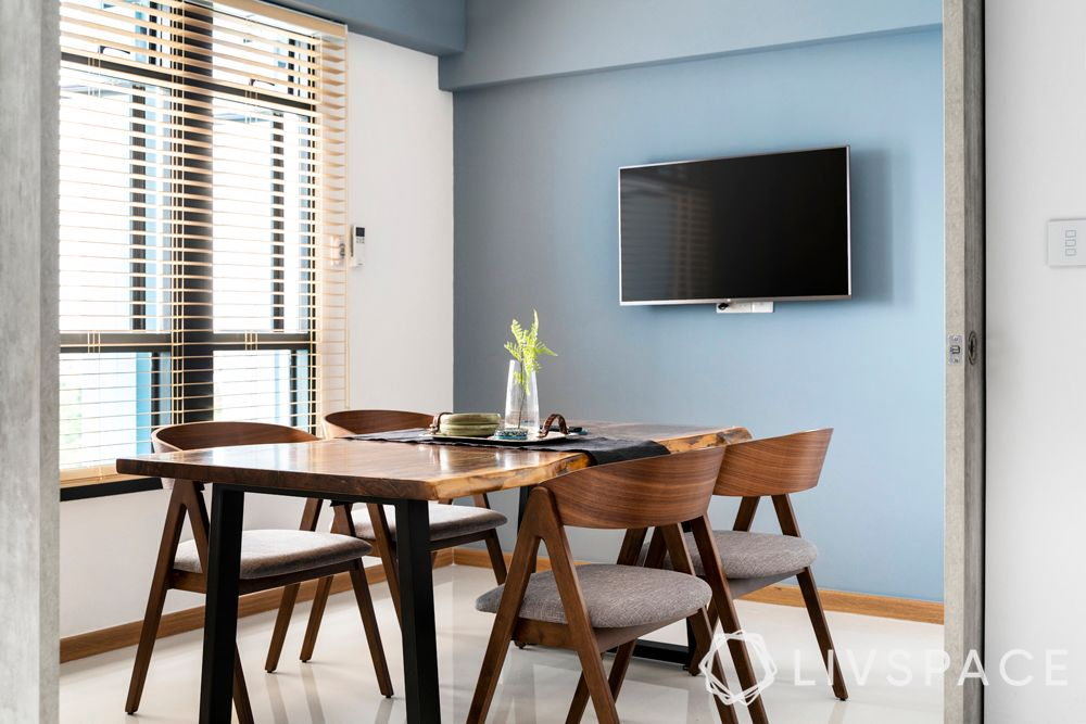 4-room-bto-dining-room-blue-wall
