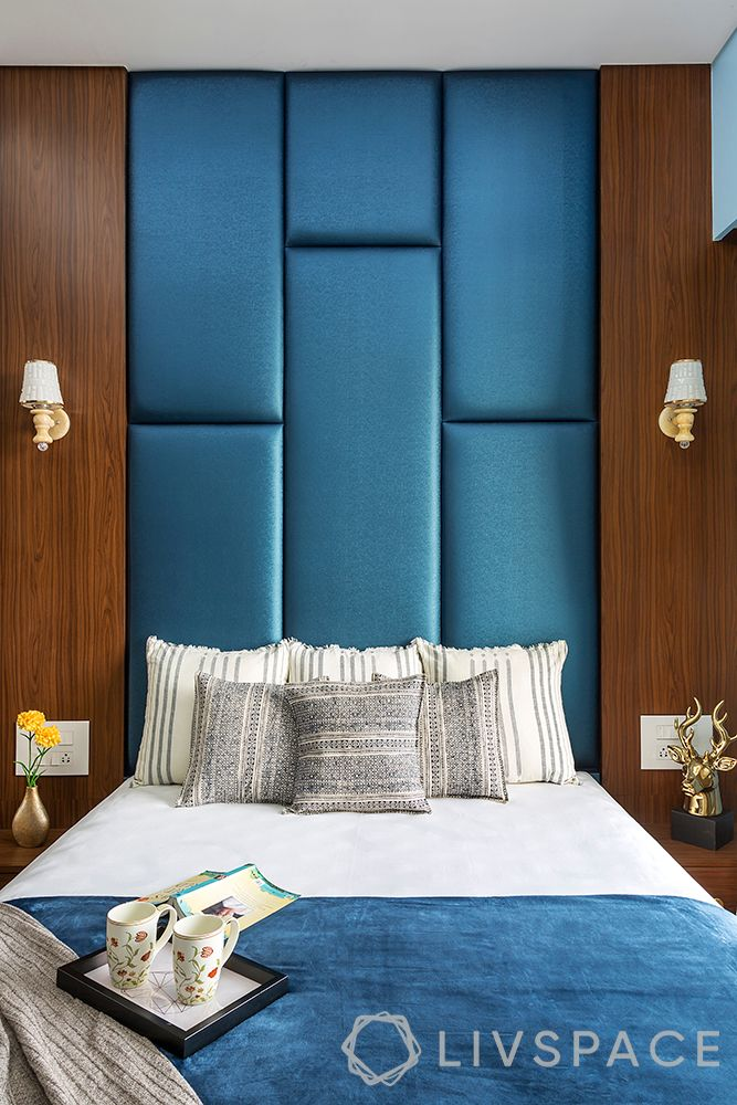 wall treatment ideas-fabric panelling-upholstered wall
