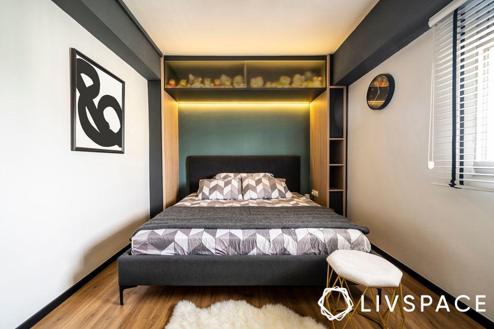 small-space-interior-design-stool-bedroom