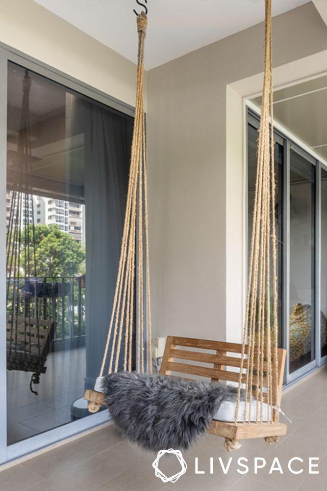 small-space-interior-design-swing
