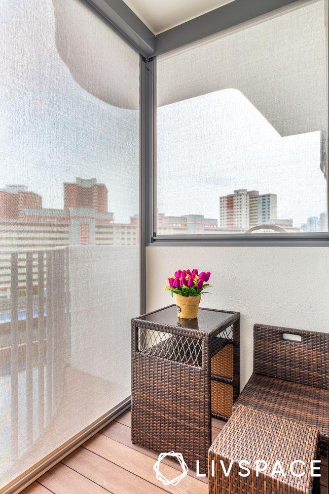 small-space-interior-design-rattan-furniture