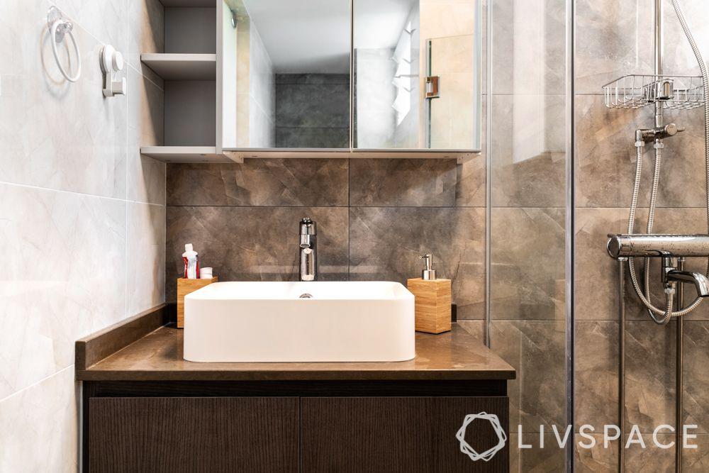 bathroom-colours-rust-textured-tiles