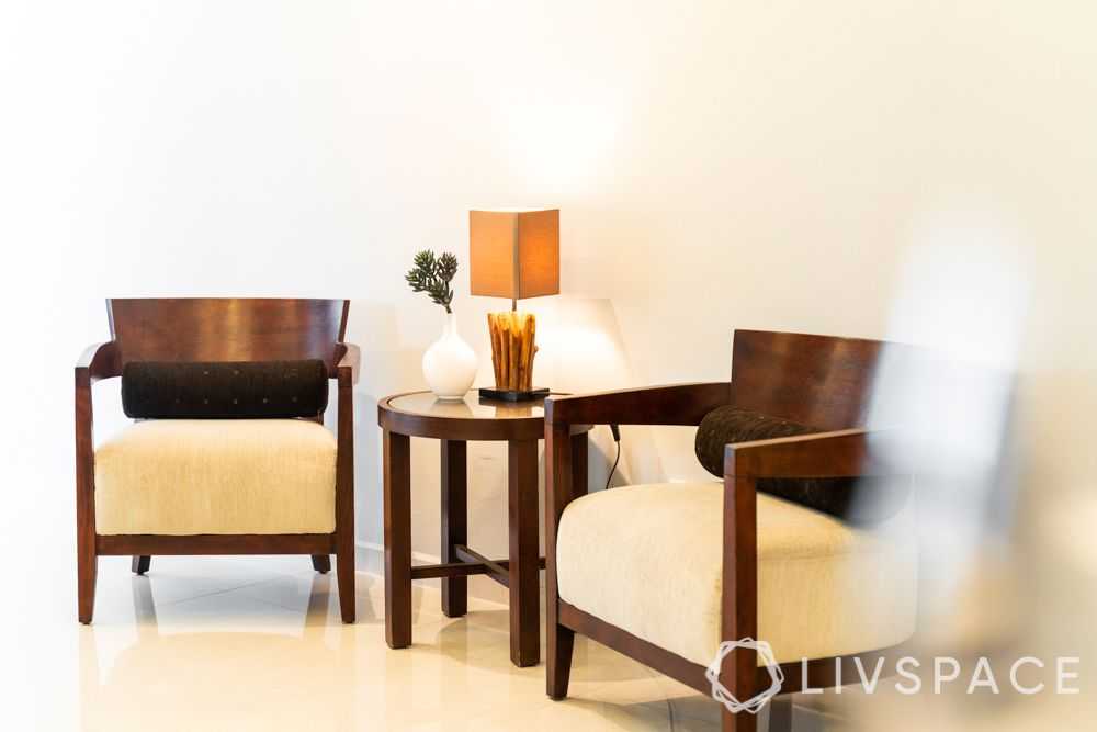 3-bedroom-condo-accent-chairs-wooden-table