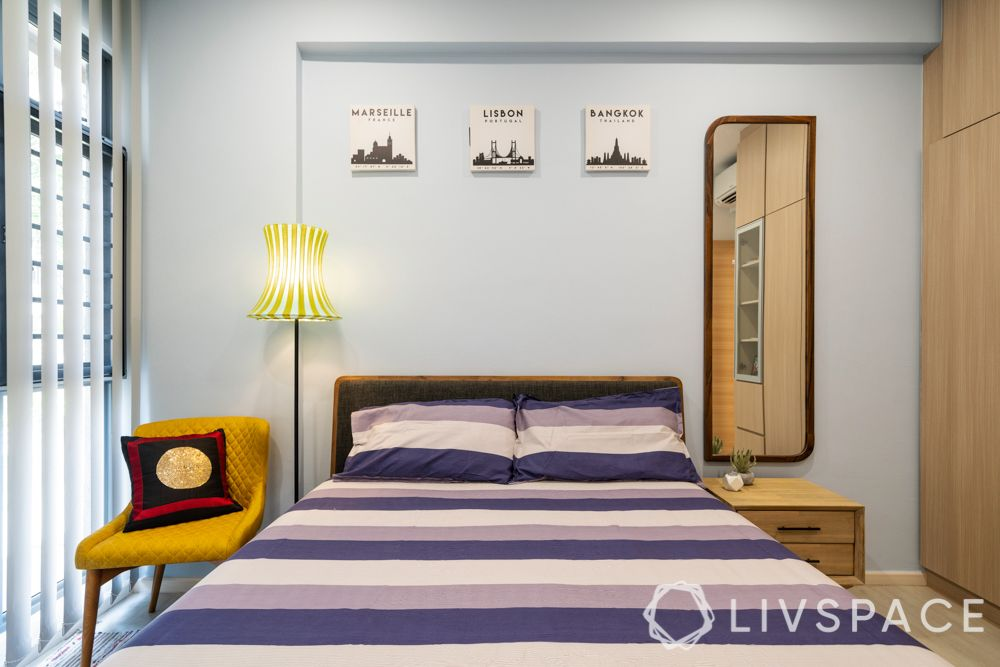 house-interior-design-kids-bedroom-bed-yellow-accent-chair
