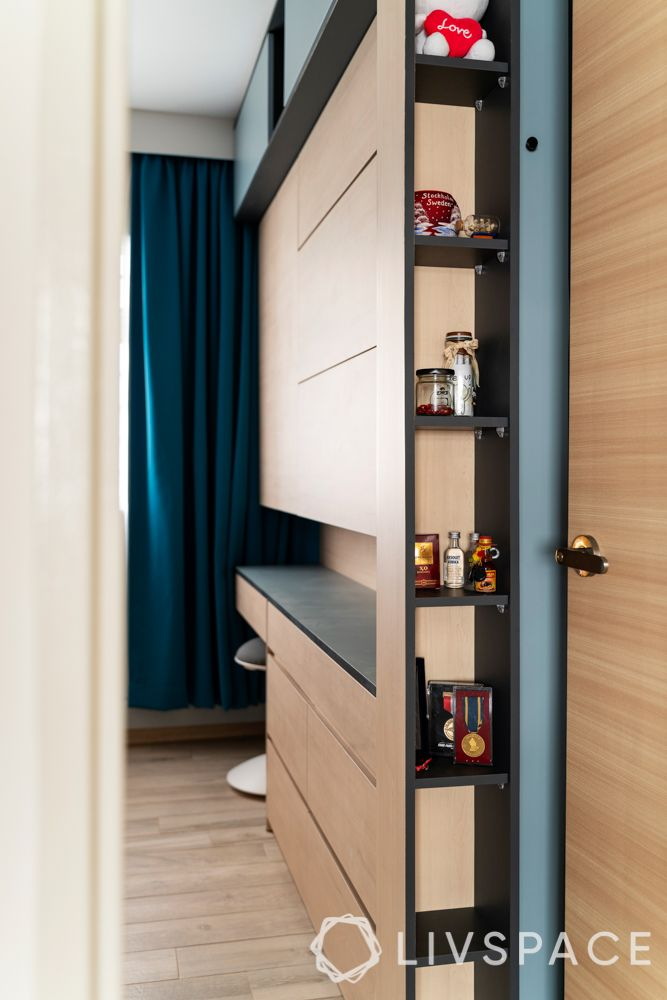 small-bedroom-ideas-lateral-storage