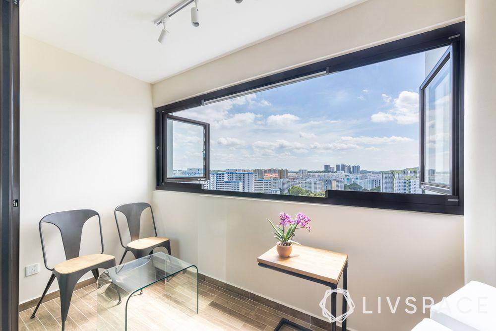 resale-hdb-balcony-glass-window-minimal-furniture