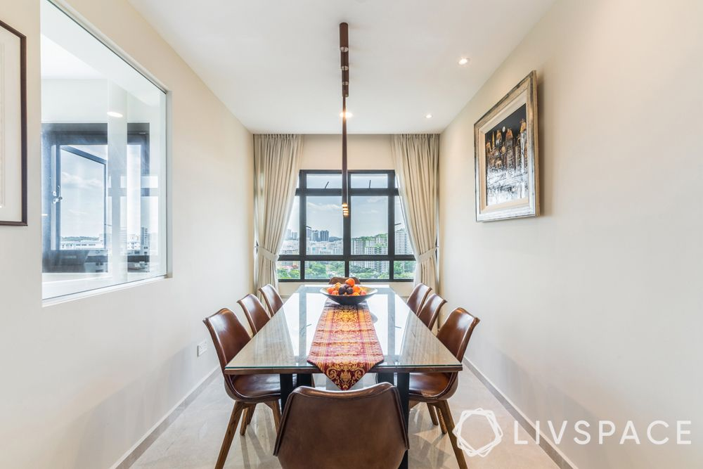 resale-hdb-dining-room-glass-wall-panel-upholstered-chairs