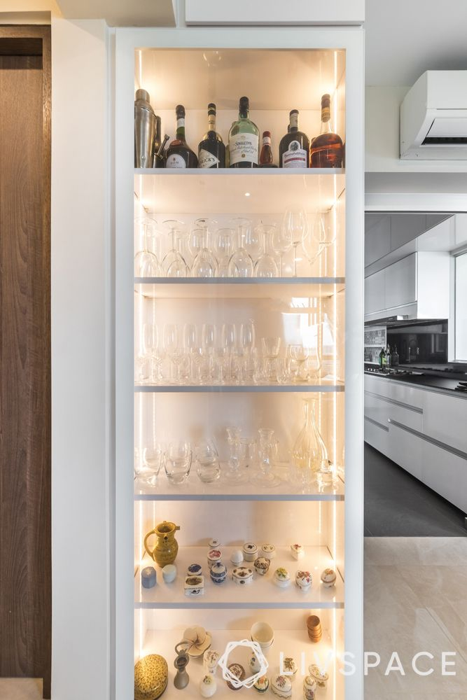 resale-hdb-glass-shelf-wine-rack-bar-unit