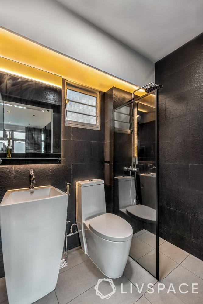 toilet-renovation-black-tiles-led-lighting