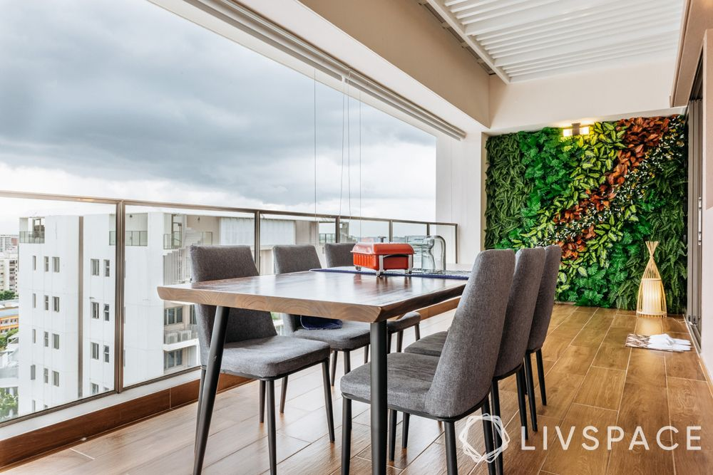 4-bedroom-condo-dining-area-outdoor-vertical-garden